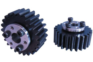 Qty 1  Motor Spur Pinion Gear 4.0Mod 16T 45# Steel Thickness 40mm Outer Dia 72mm