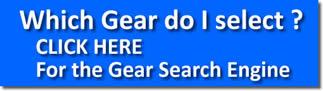 button of gear selector