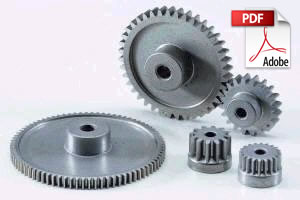 Sintered Metal Spur Gears