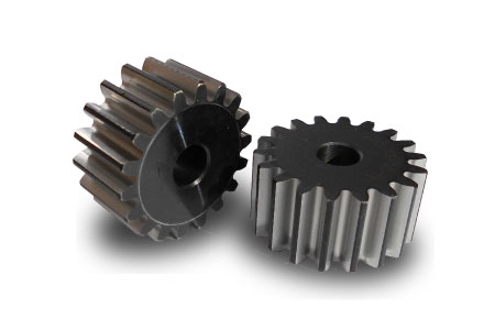 typical image of spur gears