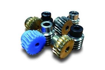 Gears for skew shaft (worm gears)