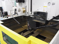 fanuc wire cut machine (inside)