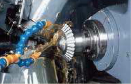 Gear cutting of Straight Bevel Gears