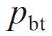 The symbol of Transverse base pitch