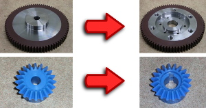 modification of gears