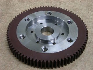 plastic gears after modification