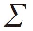 The symbol of Shaft angle