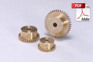 BSS Brass Spur Gears