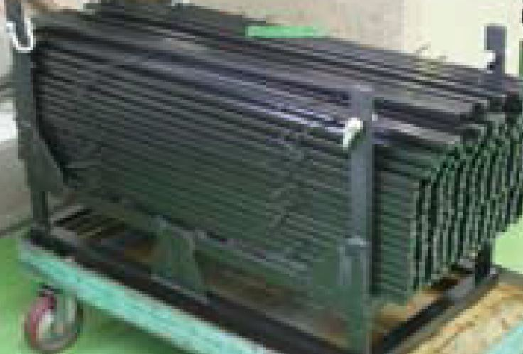 Rack Black Oxide Coating