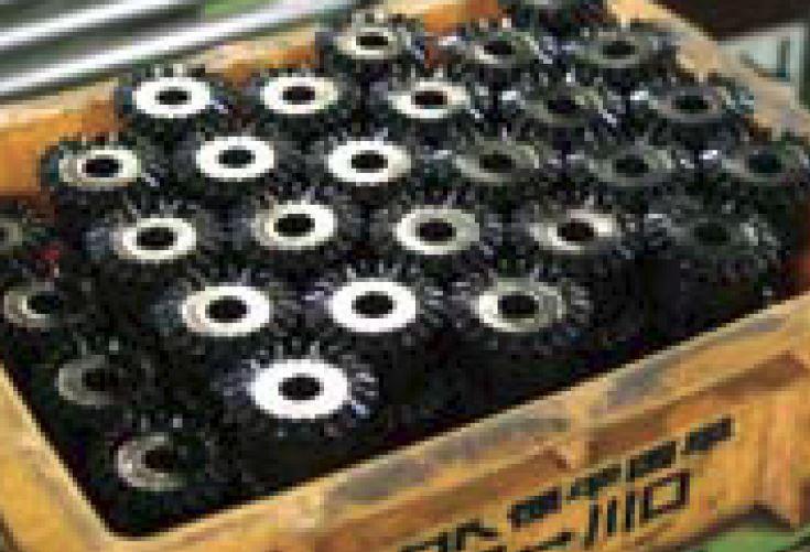 Bevel Gear Black Oxide Coating