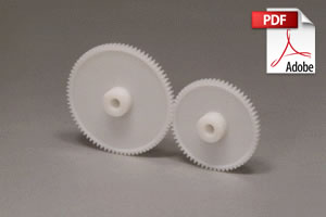 DS Injection Molded Spur Gears