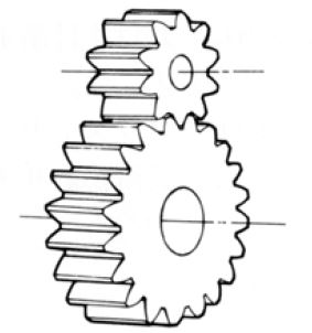 Fig.1.1 Spur Gear
