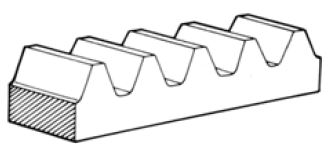 Fig.1.2 Spur Rack