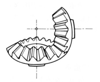 Fig.1.7 Straight Bevel Gear