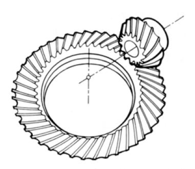 Fig.1.8 Spiral Bevel Gear