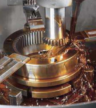 Gear cutting by CNC Gear Shaper