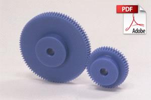 PS / PSA Plastic Spur Gears