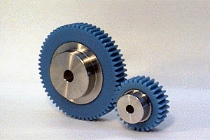 PU不锈钢芯塑料正齿轮