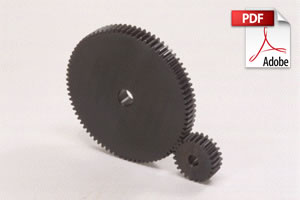 SSA Steel Hubless Spur Gears