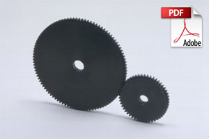 Steel Hubless Thin Face Spur Gears