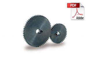 SSAY/K Spur Gears with Built in Clamps
