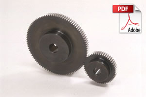 SSG Ground Spur Gears
