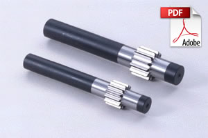 SSGS Ground Spur Pinion Shafts