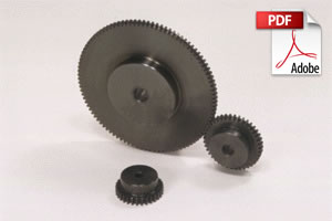 SSY Steel Thin Face Spur Gears