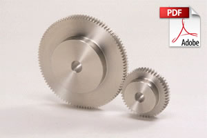 SUS / SUSA Stainless Steel Spur Gears