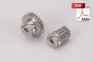 SUSL Stainless Steel Fairloc Hub Spur Gears