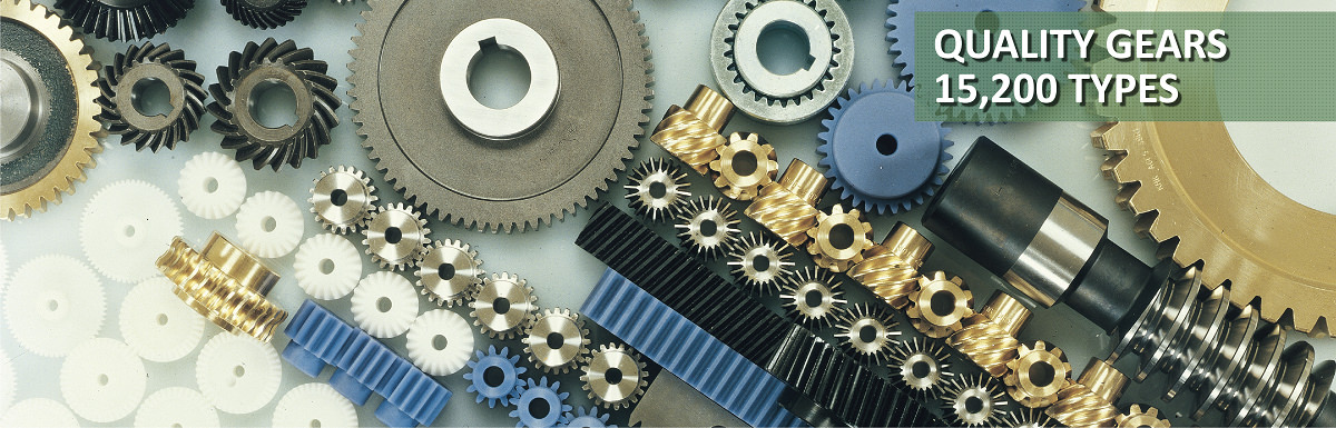 Various stock gears