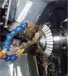 We use Crowning method for gear cutting_1