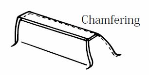 chamfering example