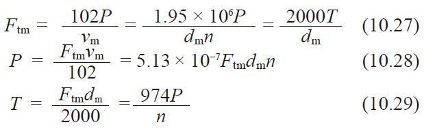 formula 10.27 10.28 10.29