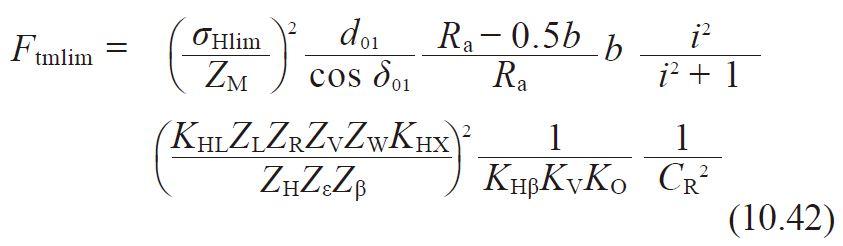 formula 10.42