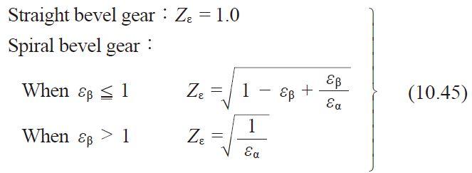 formula 10.45