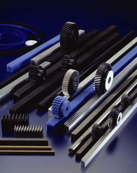 example of rack and pinion