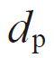 symbol of Pin diameter