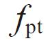 symbol of Single pitch deviation