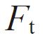 symbol of Tangential force (Circumference)