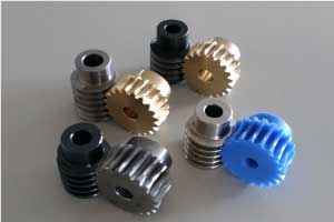 various worm gears
